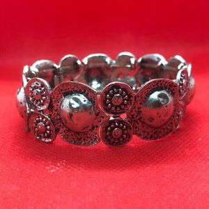 Chico's Silver Stretch Bracelet